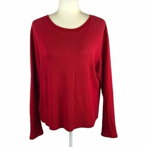 The Limited Red Thermal Top
